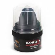 Крем-блеск водоотталкивающий для обуви Hameleon черный