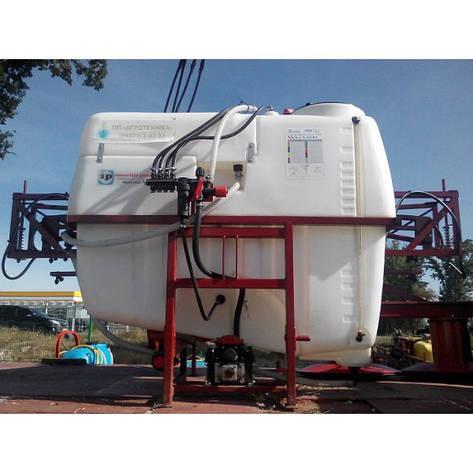 Обпріскувач навісній 1000 л 12 м, фото 2