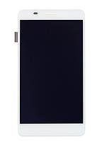Оригинальный дисплей (модуль) + тачскрин (сенсор) для WileyFox Spark X (белый цвет), фото 1