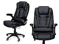 Кресло офисное MANAGER Calviano черное + настенные часы