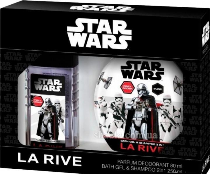 La Rive Star Wars First Order Подарочный набор для мужчин (Дезодорант 80мл  Гель для душа 2в1)