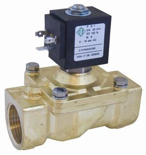 Электромагнитный клапан для воды 21HF6KOB250 (ODE, Italy), G1
