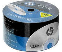 CD-R диски для аудио Hewlett-Packard Shrink 50