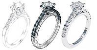 Женские кольца под заказ