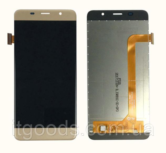Оригинальный дисплей (модуль) + тачскрин (сенсор) для Bravis S500 Diam