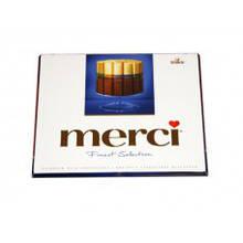 Конфеты Merci  молочный шоколад 250 г
