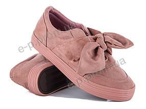 Слипоны женские Violeta (20-424 pink) | 8 пар (Код 57968)