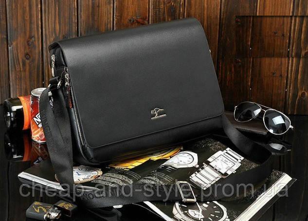3ae2b69b05ad Стильная мужская кожаная сумка KANGAROO (под формат А4). Сумка для  документов, сумка