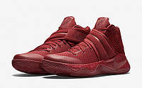 Баскетбольные кроссовки Nike Kyrie 2 Red Velvet красные / найк