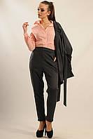 Женские брюки СТРИТ графит ТМ Ри Мари 42-52 размеры