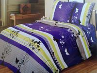 Комплект постельного белья двуспальный  МОТЫЛЬКИ (навол.70*70)