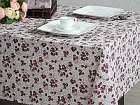 Ткань х/б напечатанная для столового белья КОФЕ ш.145 (пл.167)