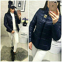 Куртка женская короткая, размер 42, 44, 46, 48. Плащевка на силиконе 150. В наличии 6 цветов