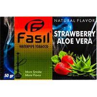 Заправка для кальяна Fasil Strawberry Aloe Vera / Клубника Алоэ вера 50 грамм