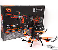 Квадрокоптер A5 флипы-кувырки с подсветкой на радиоуправлении р/у