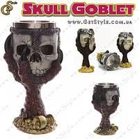 "Бокал с черепом - ""Skull Goblet"" - 200 мл., фото 1"