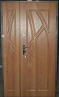 ВХІДНІ ДВЕРІ БРОНЬОВАНІ в часний будинок БЕЗКОШТОВНА ДОСТАВКА, двери входные 1,20 на 2,05, фото 1