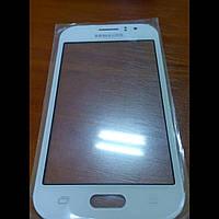Стекло корпуса для Samsung J100h/ds Galaxy J1, белое