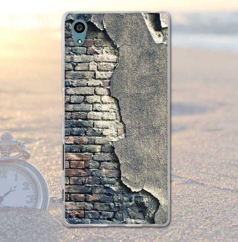 Чохол з картинкою (силікон) для Sony Xperia XA1 Стіна