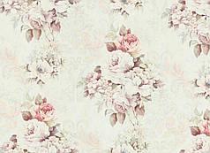 Обои, на стену, винил на флизелине, цветы, прованс, горячего тиснения, 9021-04, 1,06х10м