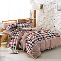Двуспальный комплект постельного белья 180*220 из ранфорса Лофт