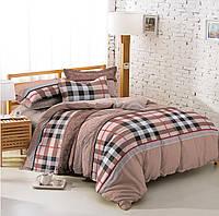 Семейный комплект постельного белья из ранфорса Лофт