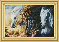 Четыре коня Апокалипсиса  Набор для вышивки крестом