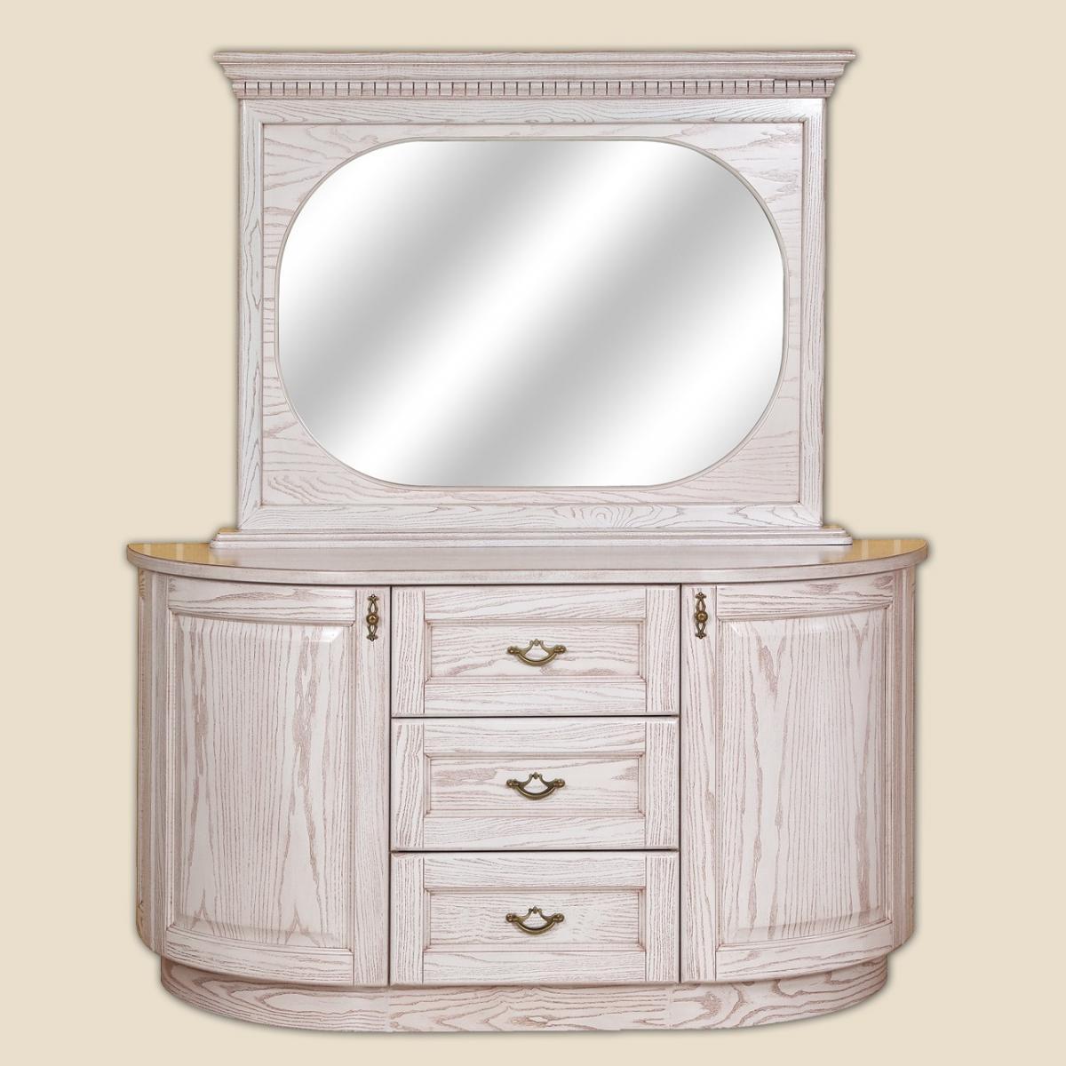 Креденс (комод) дервянный в класичному стилі Афродіта РКБ-Меблі, колір на вибір