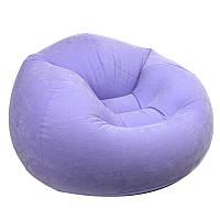 Надувное кресло Intex 68569 Purple
