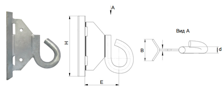 Крюк GHSO 16 (SICAME)