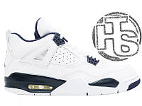 "Женские кроссовки Air Jordan 4 IV Retro Ls ""Legend Blue"" 314254-107"