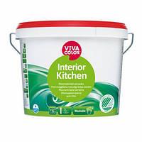 Interior Kitchen Полуматовая не содержащая растворителей моющаяся краска для стен и потолков в сухих и влажных