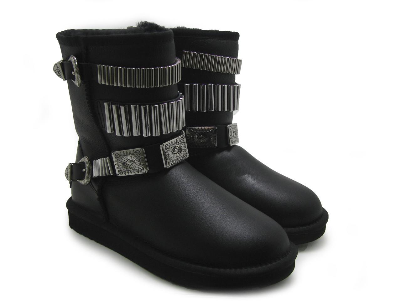 Ботинки зимние женские в стиле KOIEEIER
