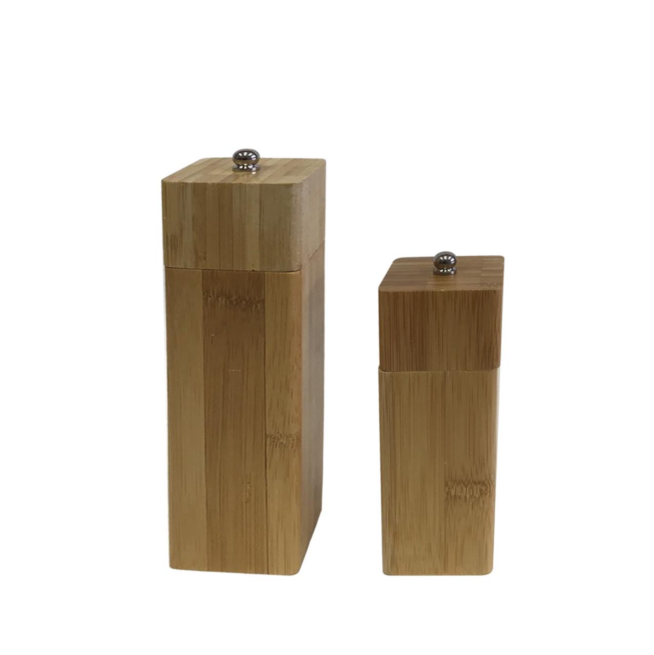 Перцемолка бамбуковая 15 см квадрат