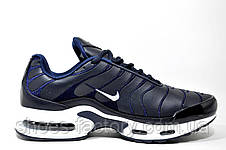 Кроссовки мужские Nike Air Max Plus TN, Dark Blue\White, фото 3