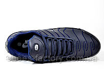 Кроссовки мужские Nike Air Max Plus TN, Dark Blue\White, фото 2