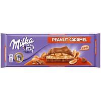 Шоколад молочный Milka Peanut caramel 276 г. Швейцария!