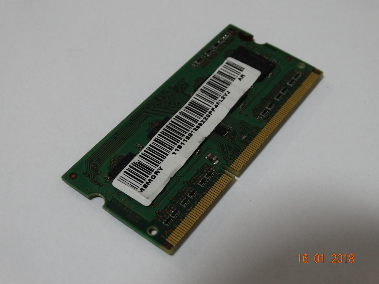 Модуль оперативной памяти Samsung 1GB DDR3-1033 (M471B2873EH6-V055)