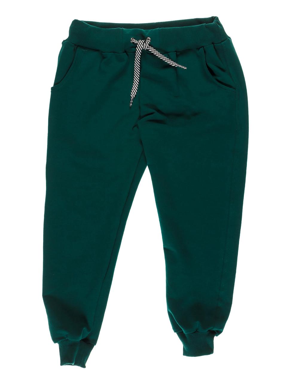 Штаны спортивные темно зеленые
