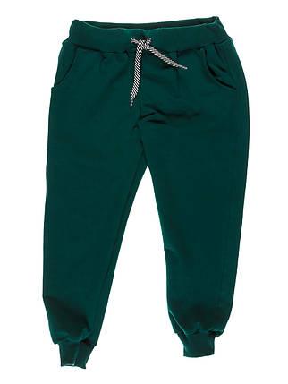 Штаны спортивные темно зеленые, фото 2