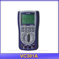Осцилограф портативный VC301A с функциями цифрового мультиметра