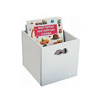 Ящик для игрушек Облако белый