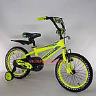 Детский велосипед Crosser Stone 16 дюймов желтый, фото 5