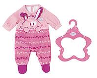 Одежда для куклы Baby Born - Стильный Комбинезон Розовый (824566)