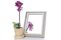 Зеркало в багете, зеркала настольные, зеркала настенные, зеркало с подставкой, 3118-185