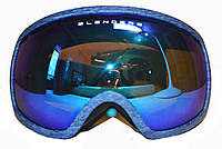 Горнолыжная, сноуборд маска HB163/blue