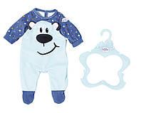 Одежда для куклы Baby Born - Стильный Комбинезон Голубой (824566)