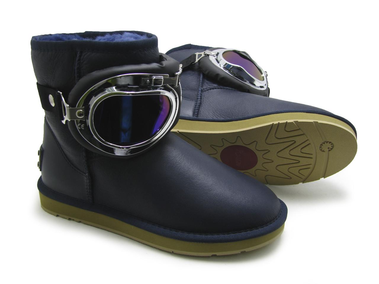 Ботинки зимние женские в стиле KOIEEIER с очками