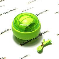 Profi Powerball (WRIST BALL) гироскоп (Gyro) Салатовый
