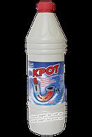 Средство для прочистки труб и сантехники КРОТ 900 мл.